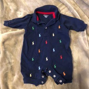 Ralph Lauren baby boy polo onesies ( 4total)